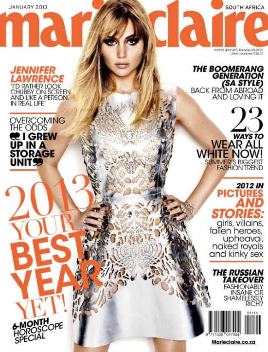 Marie Claire January 2013