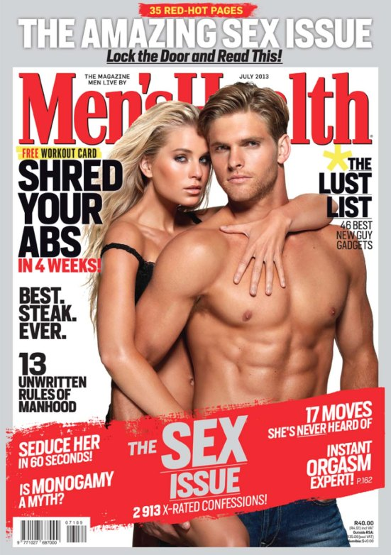 Mens Health 7 July 2013 bag