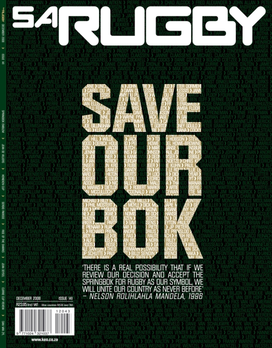 SA Rugby, December 2008
