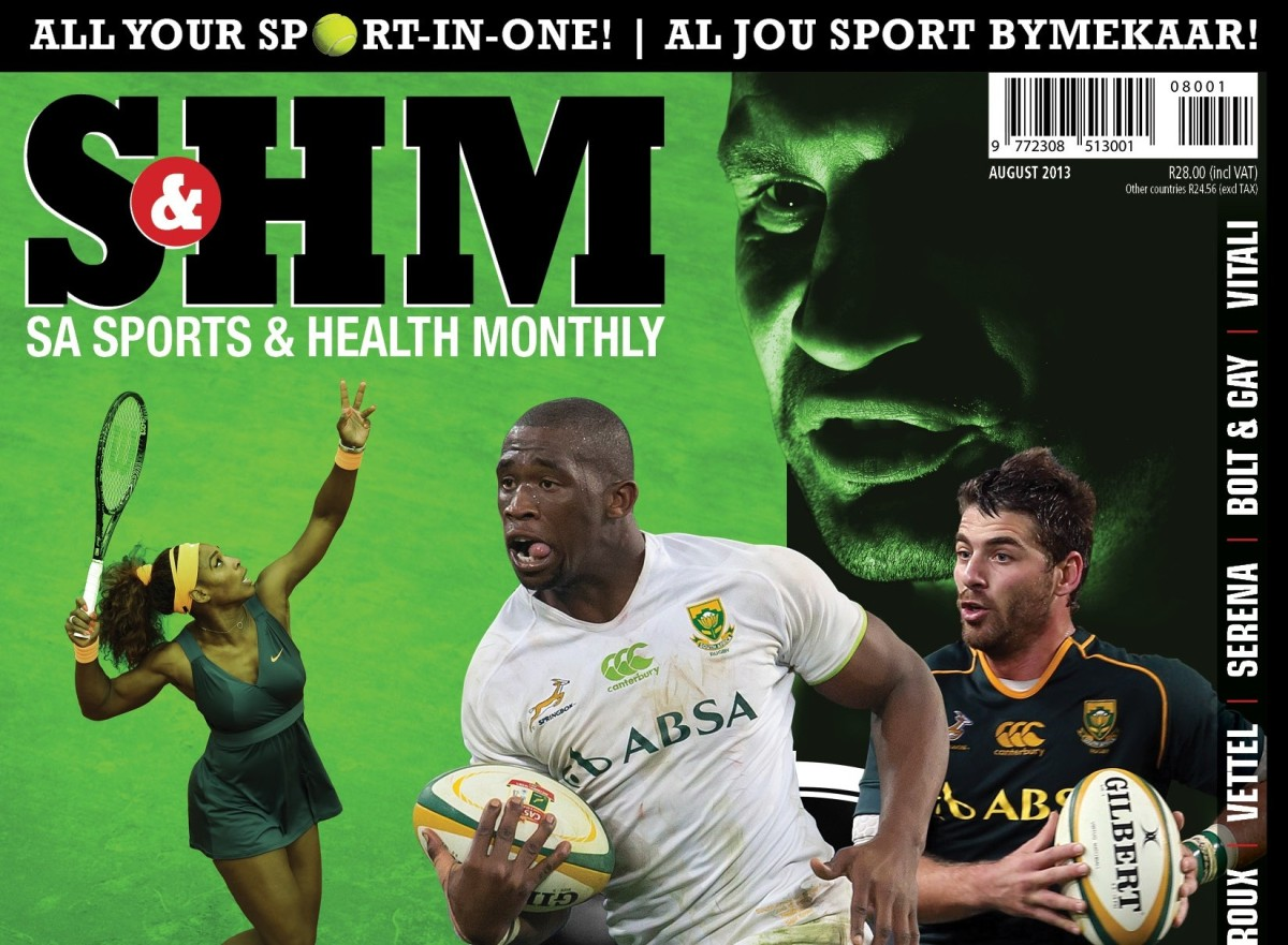 SA Sports & Health Monthly (SHM), August 2013 (LAUNCH ISSUE!)