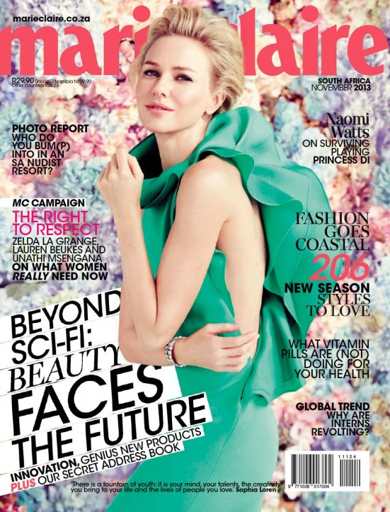 Marie Claire 11 November 2013