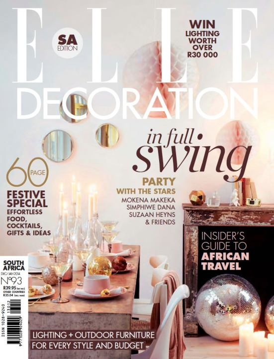 Elle Deco 6 Dec Jan 2014
