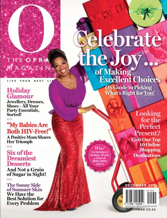 Oprah 12 December 2013
