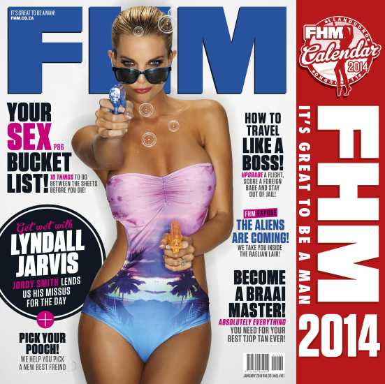 FHM 1 January 2014