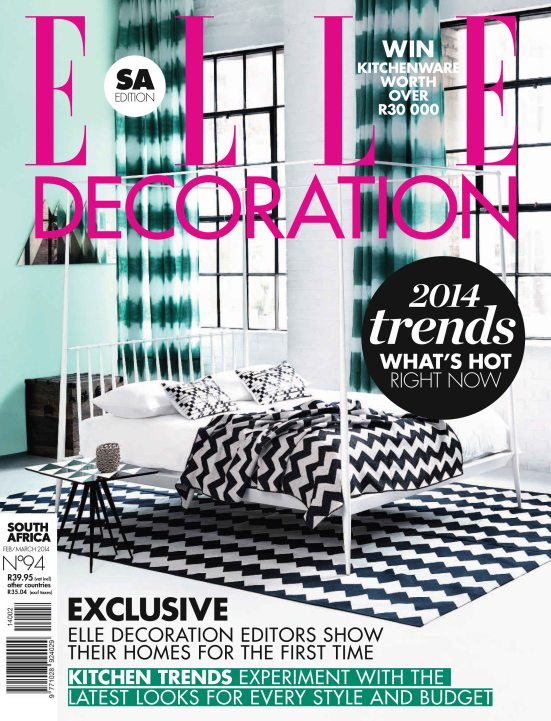 ELLE Deco 1 February March 2014