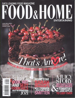 Food and Home 2 February 2014