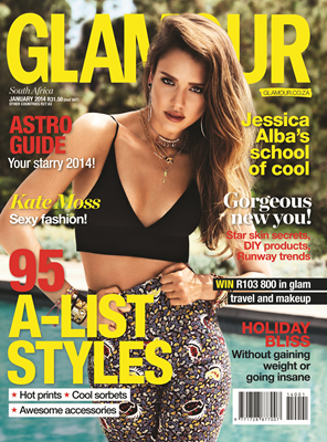 Glamour 1 January 2014