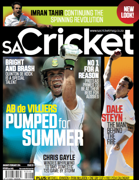 SA Cricket 1 January February 2014