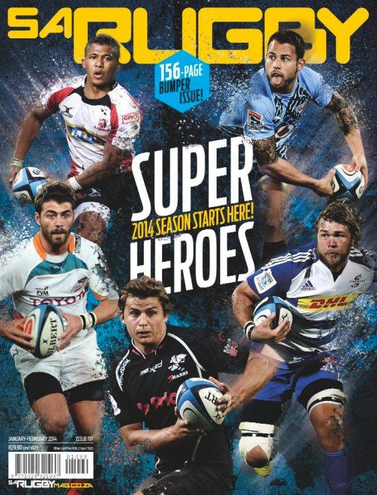 SA Rugby 1 January February 2014