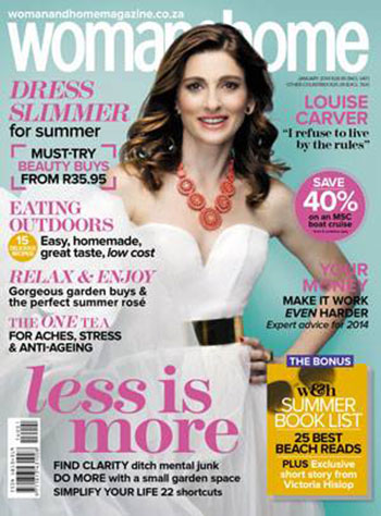Woman and Home 1 January 2014
