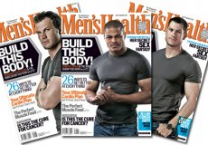 Men's Health 11 September 2011 3 pack