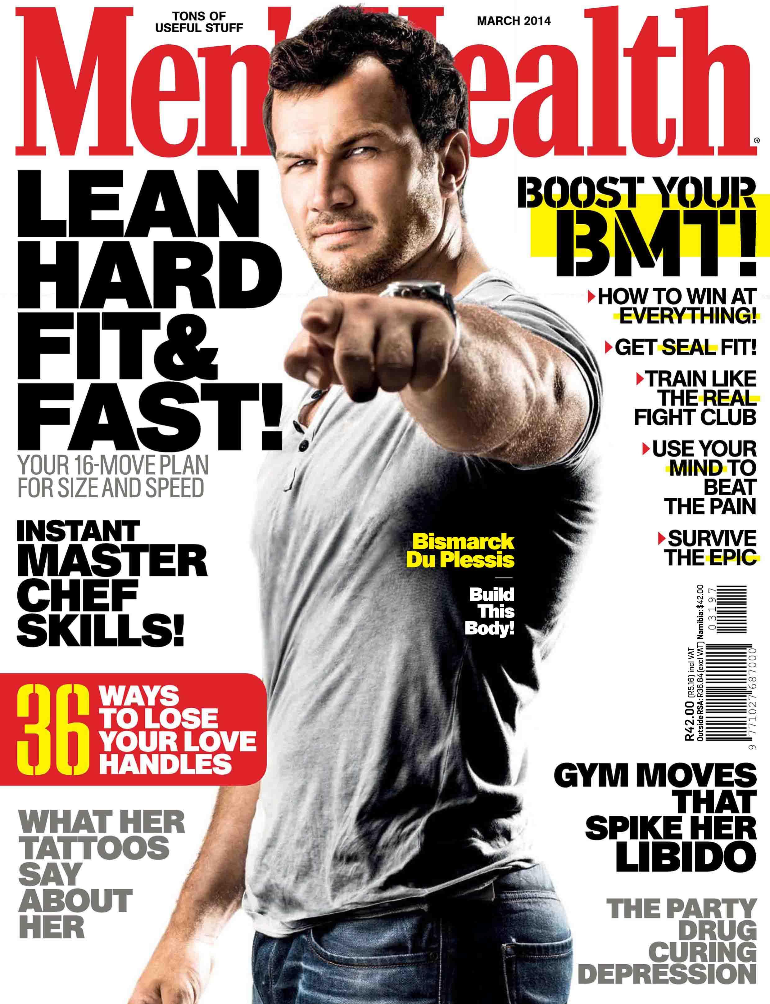 Mens Health Magazine President Barack Obama Instant Energy: Famousmales > Rugby Player Bismarck Du Plessis Naked In