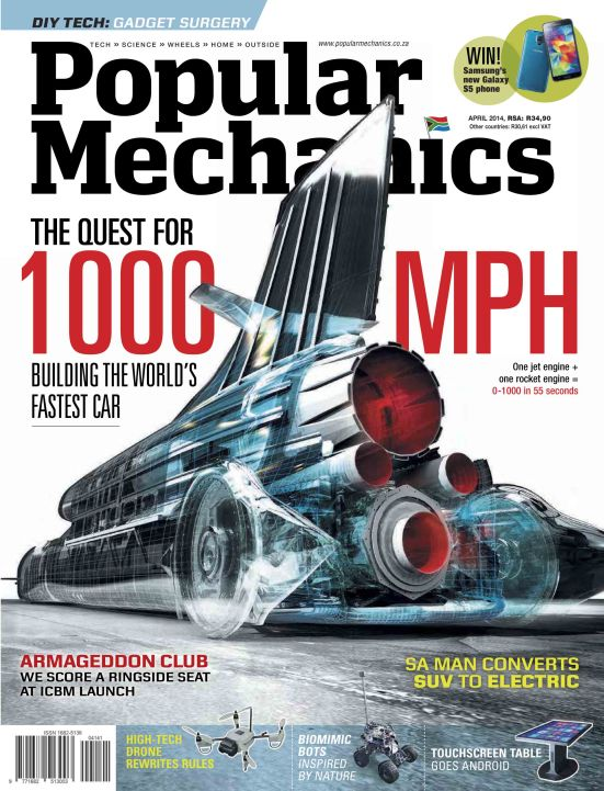 Popular Mechanics 4 April 2014