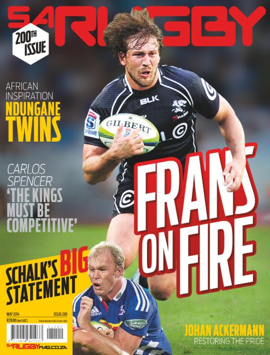 SA Rugby 5 May 2014