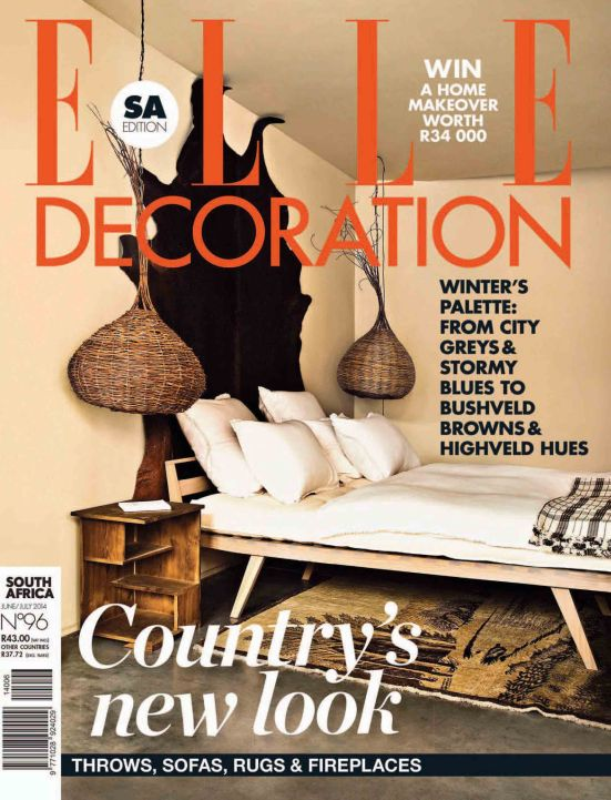 Elle Deco - June/ July 2014