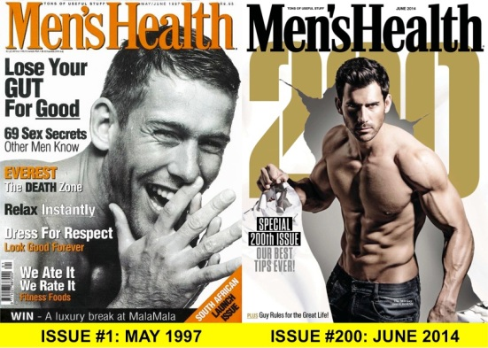 MENS HEALTH COLLAGE