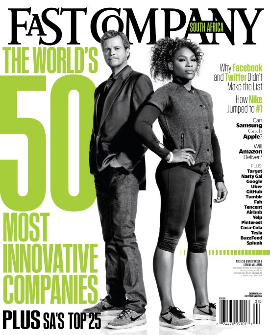 Fast Company South Africa (Mock cover)