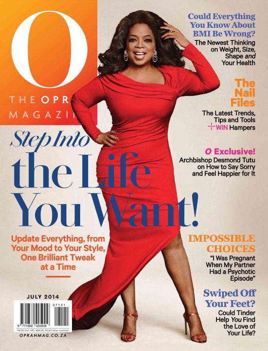 Oprah Magazine - July 2014