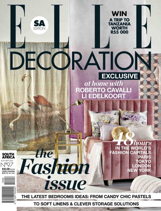 Elle Decoration - August/ September 2014