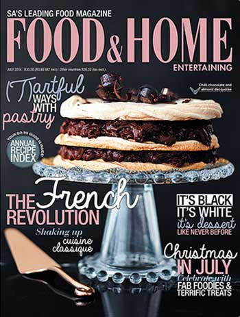 Food and Home 7 July 2014