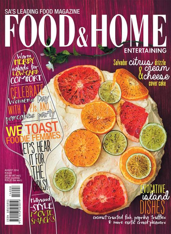 Food and Home 8 August 2014