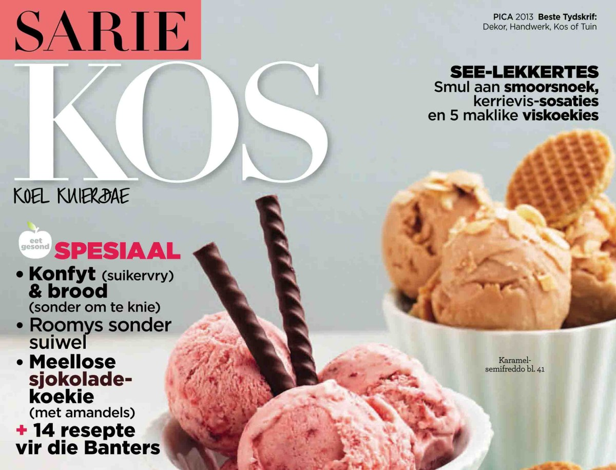 SARIE KOS and SARIE FOOD, October / November 2014