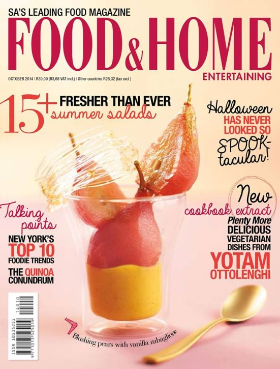 Food and Home 10 October 2014