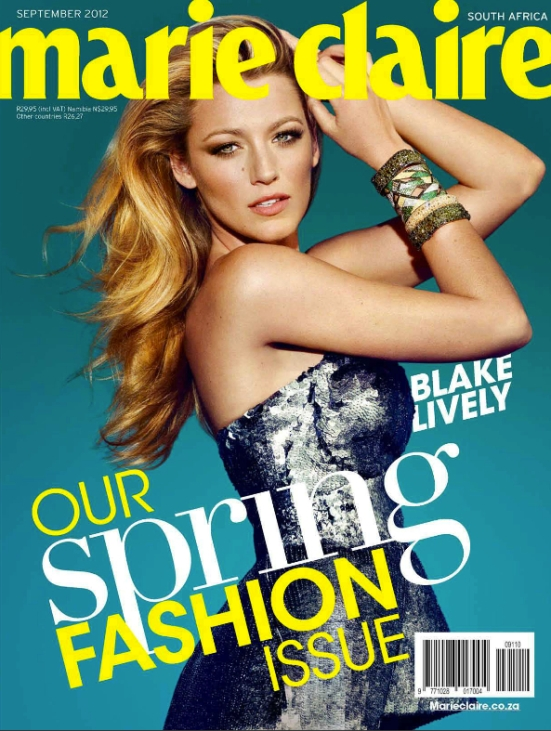 Marie Claire 9 September 2012