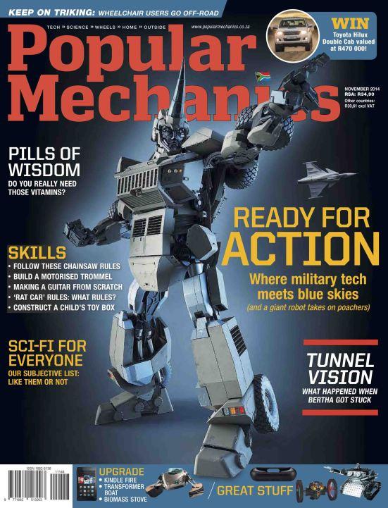 Popular Mechanics - November 2014