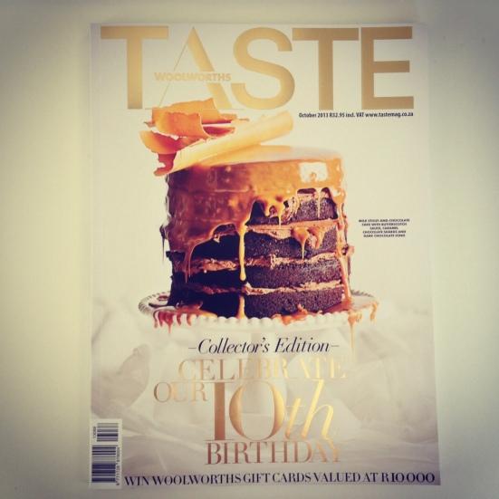 Taste October