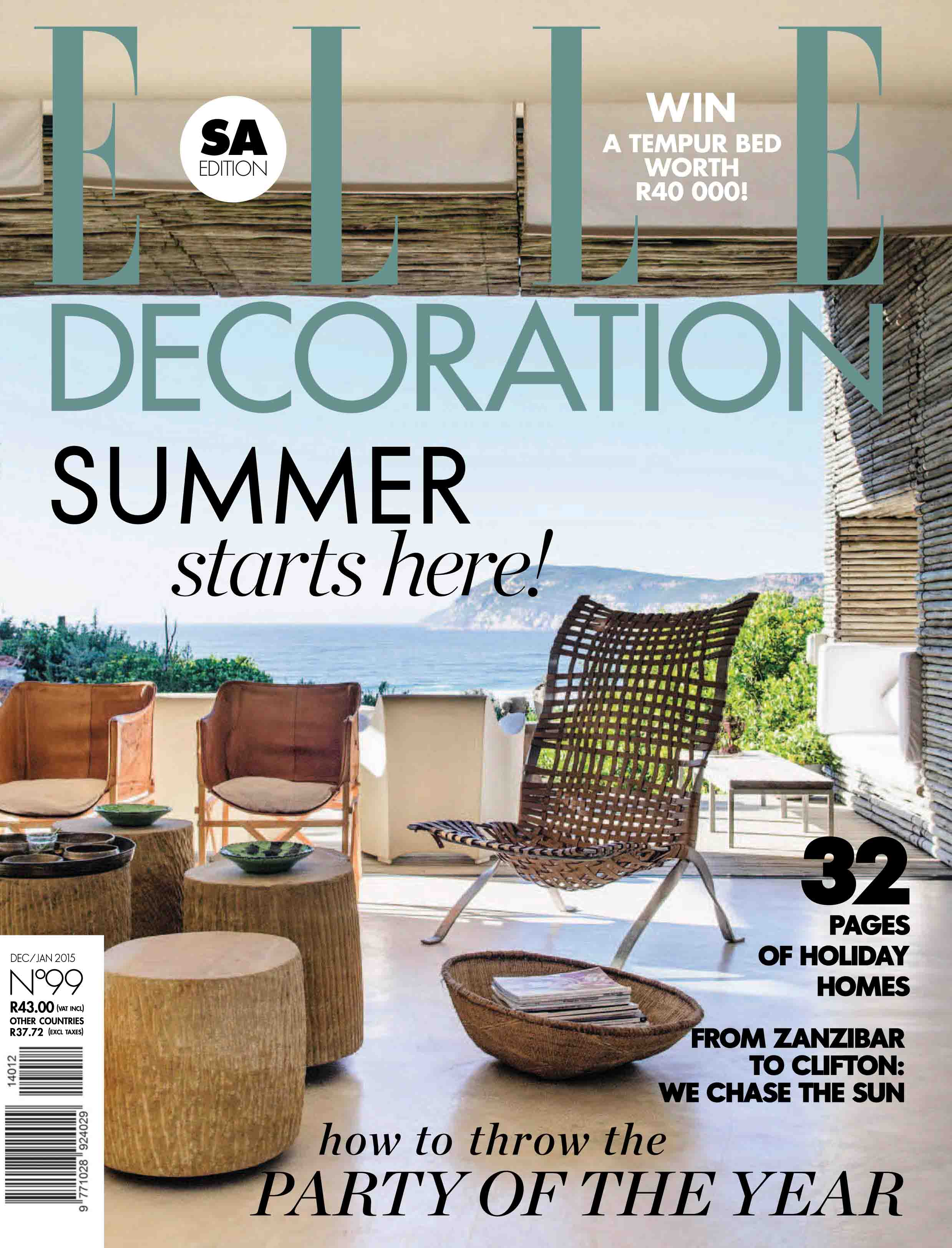 ELLE Decoration South Africa December 2014 January 2015 MediaSlut