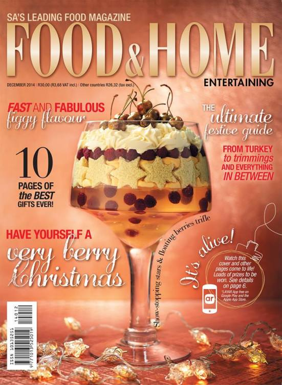 Food and Home 12 December 2014