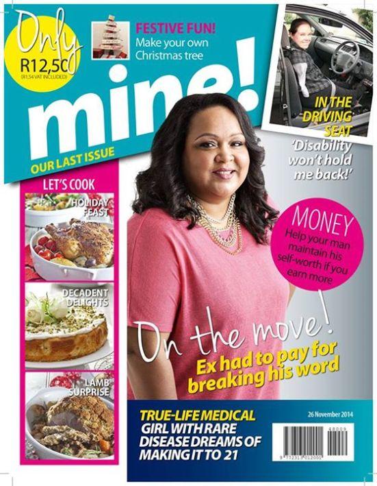 Mine last issue