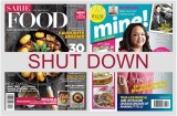Media24 closes two (new) English magazines; SARIE Food and Mine!