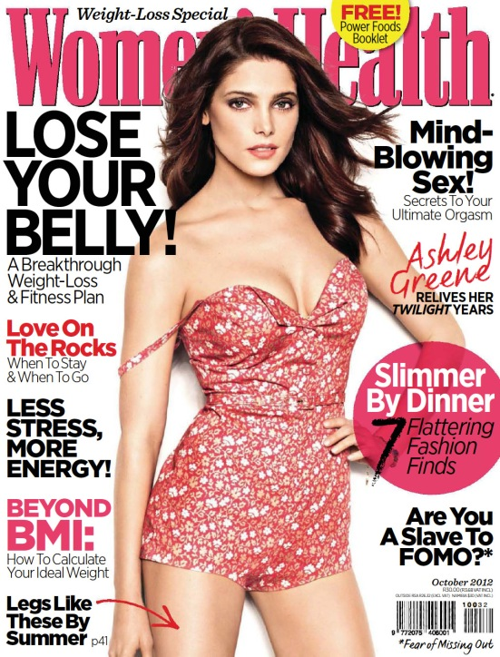 Womens Health 9 October 2012
