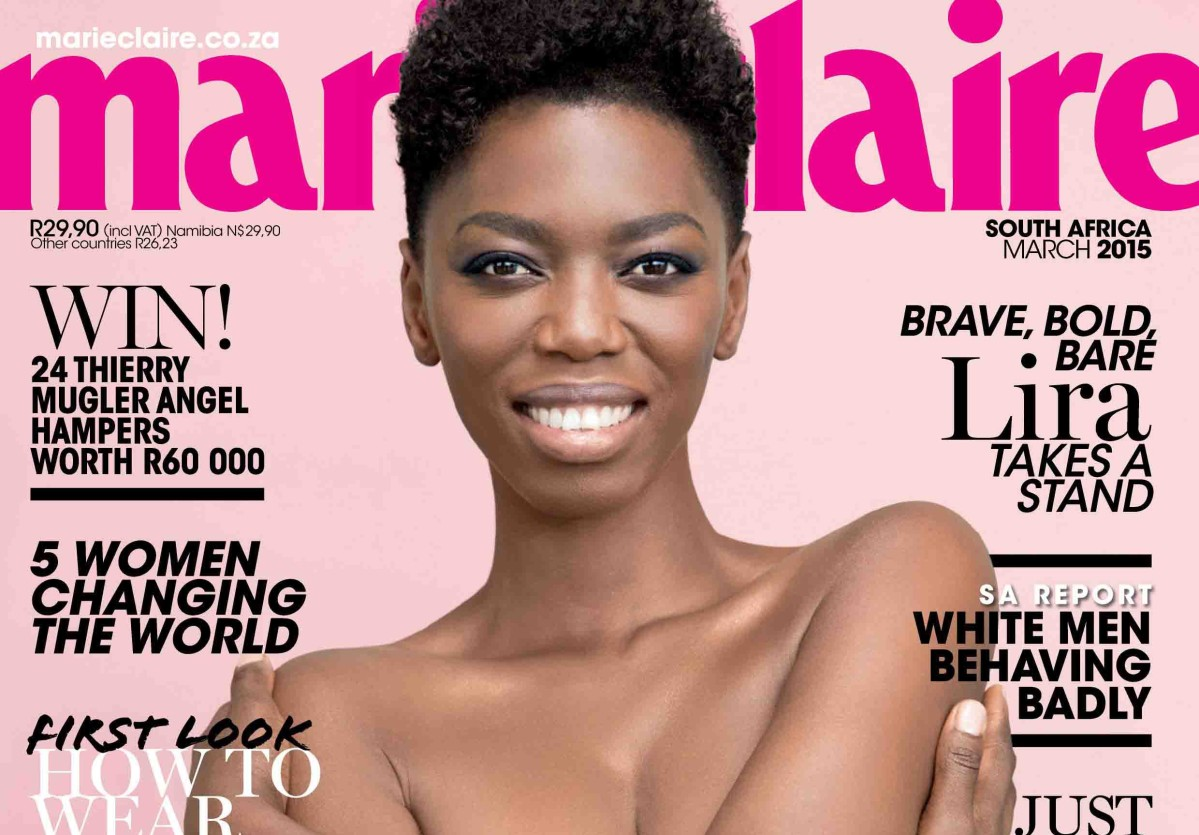 Marie Claire South Africa, March 2015 (NAKED ISSUE!)