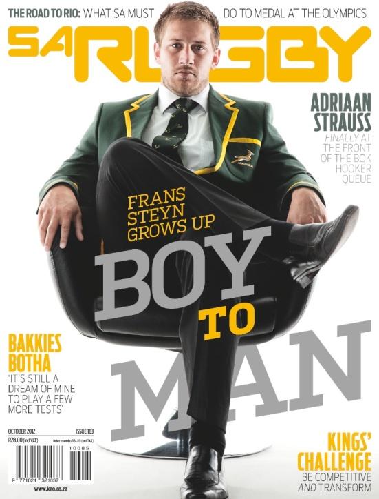 SA Rugby 9 October 2012